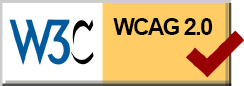 w3c organization logo for for visually impaired